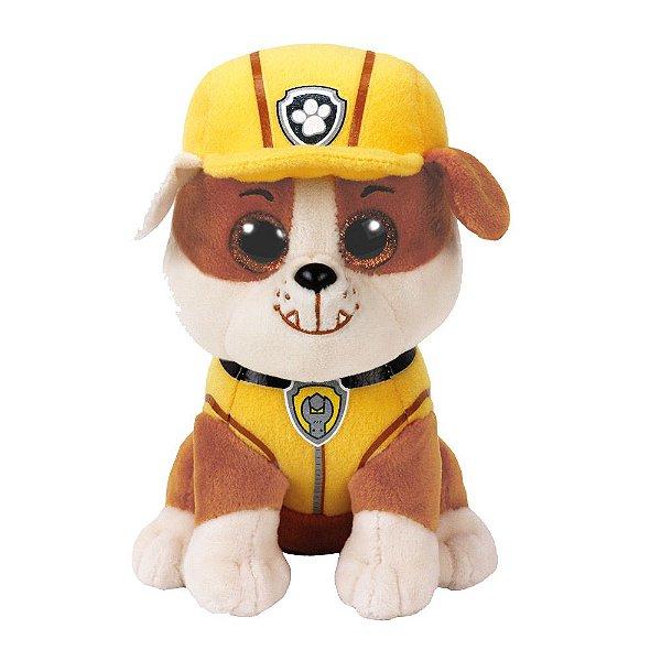 Pelúcia Ty Beanie Boos - Rubble - Patrulha Canina