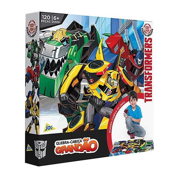 Quebra-cabeça grandão Transformers – 120 peças - Toyster