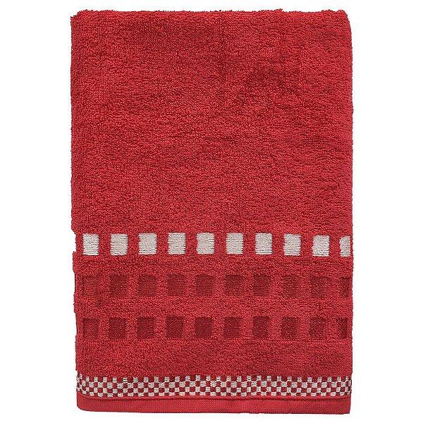 Toalha de Banho Allegra Calera - Vermelho - Karsten