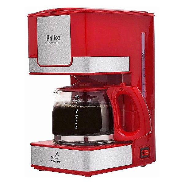 Cafeteira Elétrica PH16 Inox Red - Philco