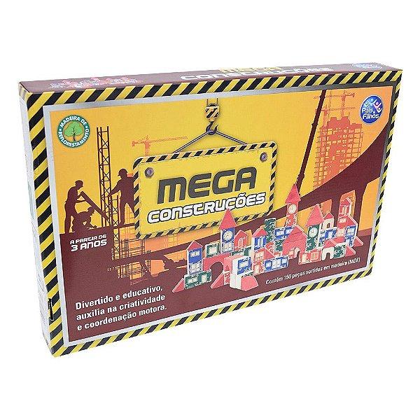 Mega Construções - 150 Peças - Pais e Filhos