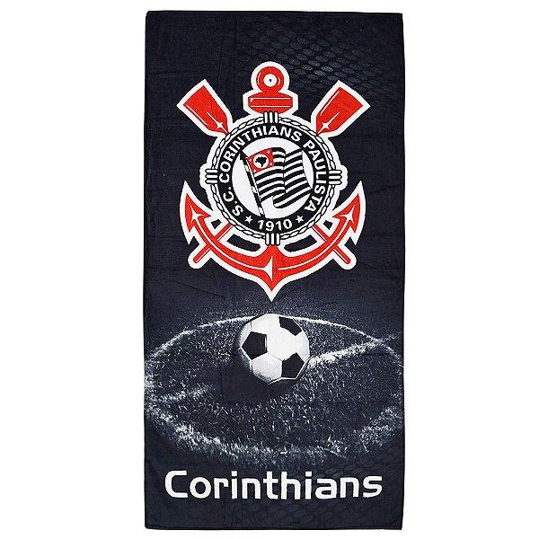 Toalha de Banho Corinthians Campo - Döhler
