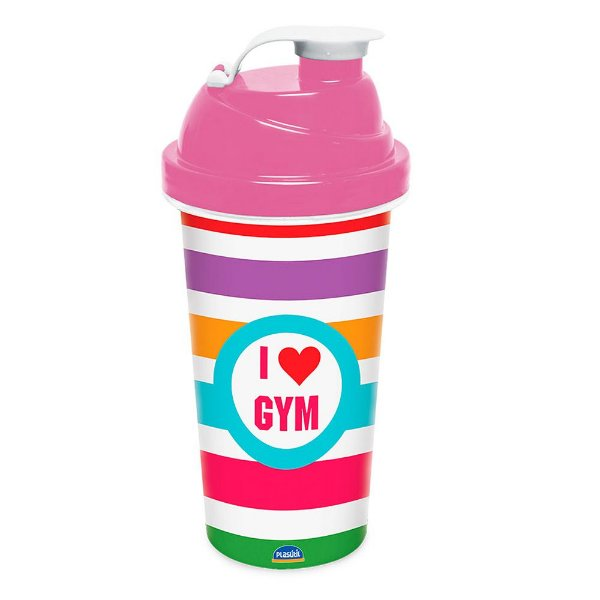 Garrafinha Plástica I love Gym - 580ml