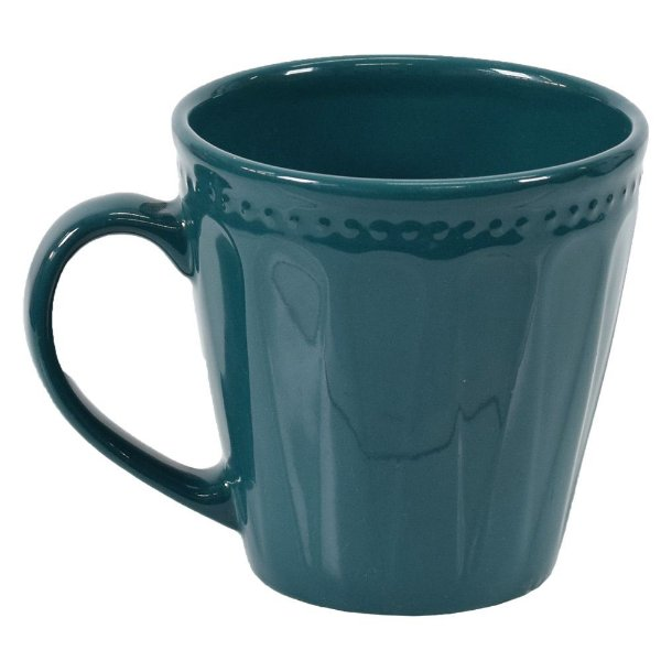 Caneca Corona Relieve 300ml Emerald - Yoi