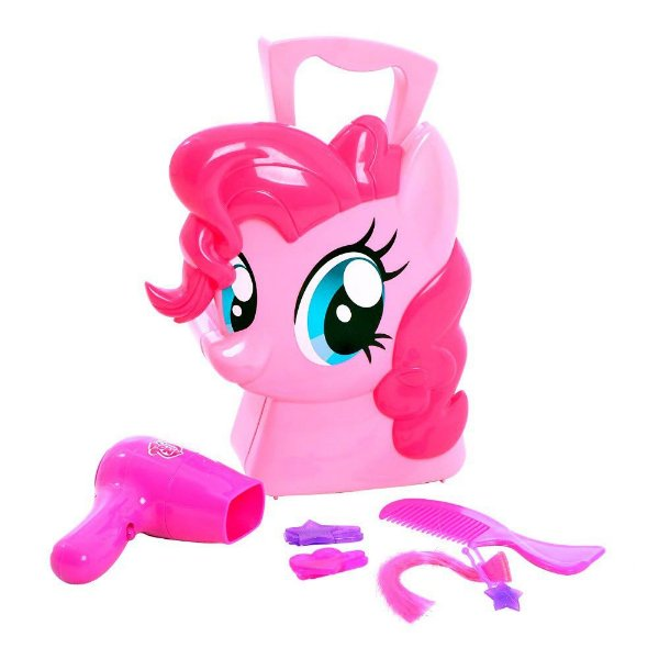 Maleta My Little Pony - Pinkie Pie Cabeleireira  - Multikids