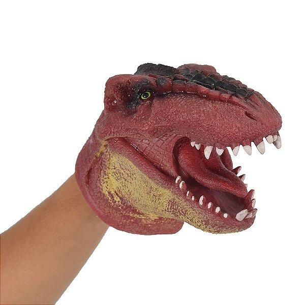 Dino Vermelho Fantoche - DTC