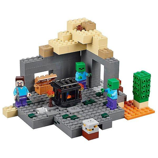 Lego Minecraft A Masmorra - Lego