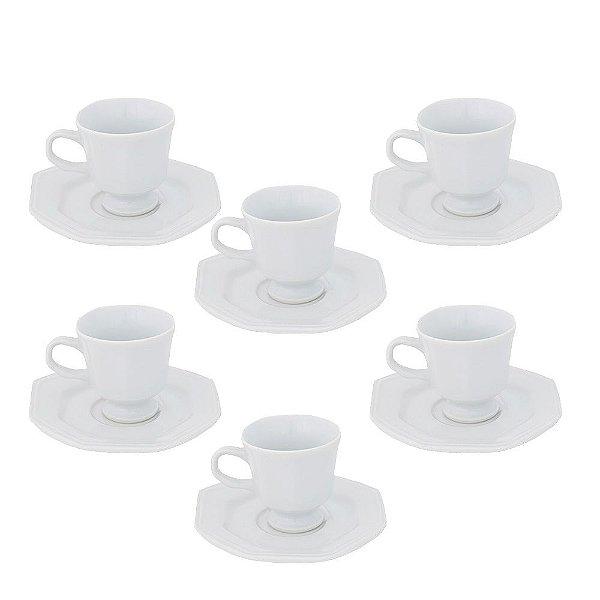 Conjunto de Xícaras de Café - Prisma - Schmidt