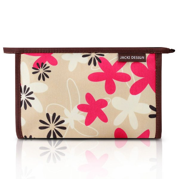 Necessaire Envelope Miss Douce Floral Bege - Jacki Design