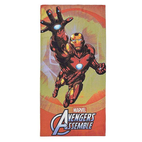 Toalha Felpuda Avengers - Homem de Ferro - Lepper