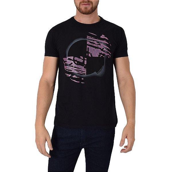 Camiseta Texturizada Calvin Klein