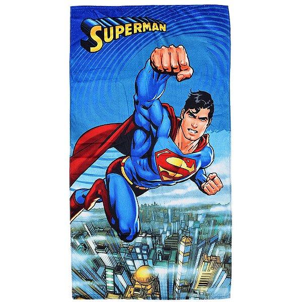 Toalha de Banho Velour - Superman - Döhler
