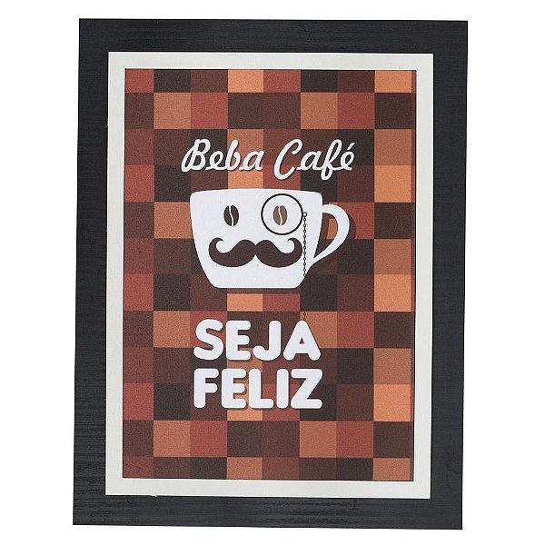 Quadro Decorativo Beba Café - 30 x 23 cm