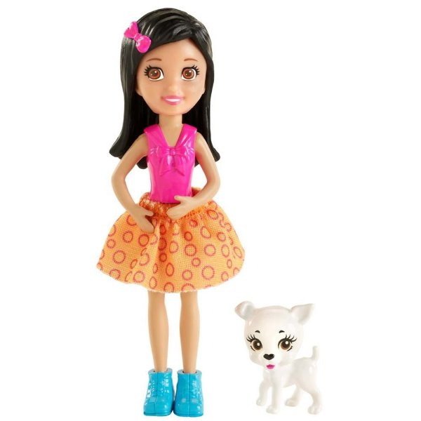 Polly Pocket - Crissy com Bichinho - Mattel