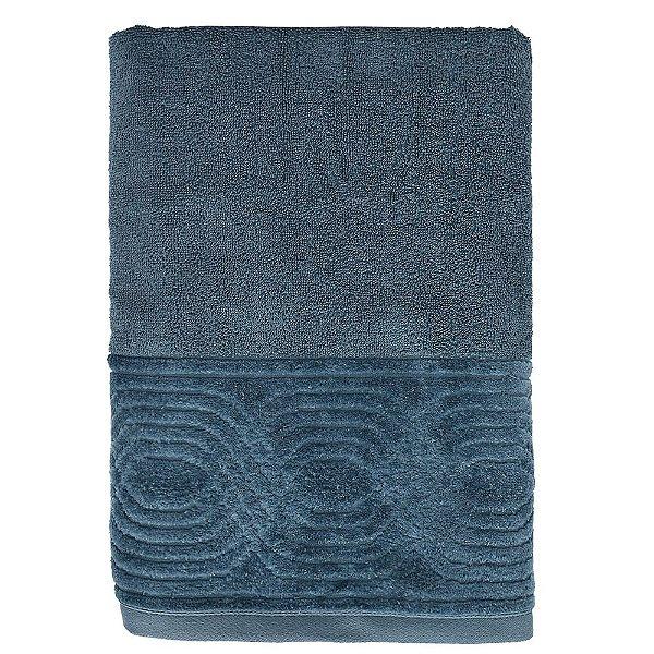 Toalha de Banho Unique Wave - Azul Escuro - Santista