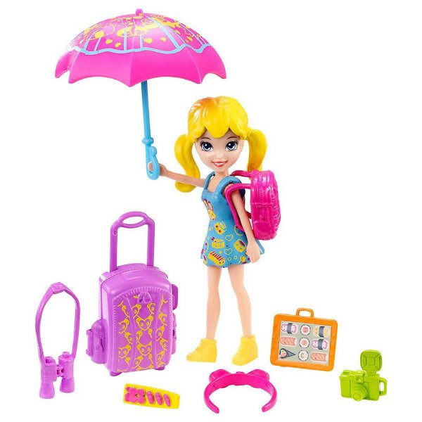 Polly Pocket Passeio no Japão - Mattel