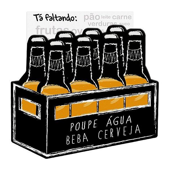 Ímã de Geladeira Tá Faltando - Caixa de Cerveja - Geguton