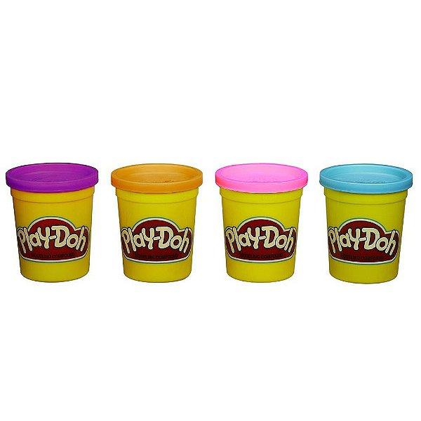 Conjunto Play Doh - 4 Potes