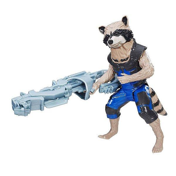 Boneco Rocket Raccoon - Guardiões da Galáxia - Hasbro