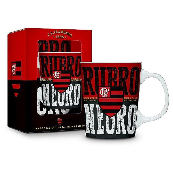 Caneca Porcelana Premium Flamengo - Brasfoot