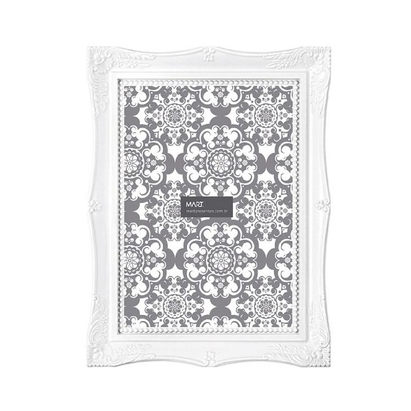 Porta Retrato Branco 10 x 15 cm - Mart