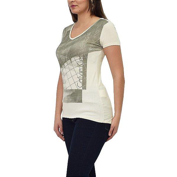 Blusa Feminina Estampada - Calvin Klein Jeans