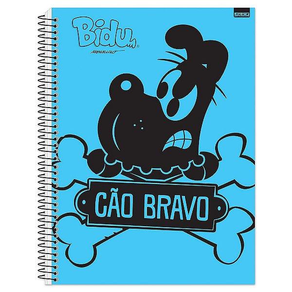 Caderno Bidu e Mingau - Cão Bravo - 1 Matéria