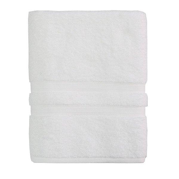 Toalha de Banho Gigante Algodão Egípcio - Branco - Buddemeyer