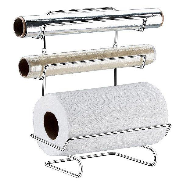 Suporte para Papel Toalha/Alumínio/PVC - Linha Vantaggio - Future