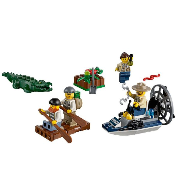 Lego City Police - Conjunto de Iniciação da Polícia do Pântano