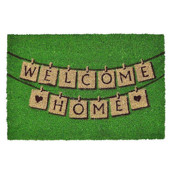 Capacho Fibra Natural - Welcome Home - Mabruk