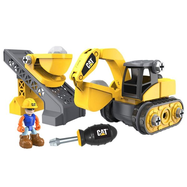 CAT Junior Operator Work Site - Excavator - Machine Maker - DTC