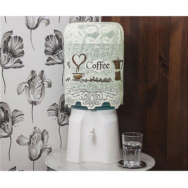 Capa para Galão 20L - Grãos de Café - Interlar