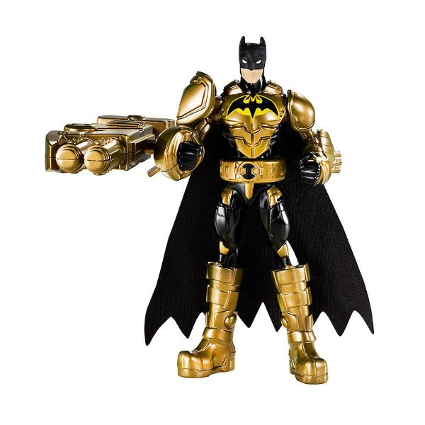 Batman Power Attack de Luxe - Figura de Combate - Turbo Punho - Mattel