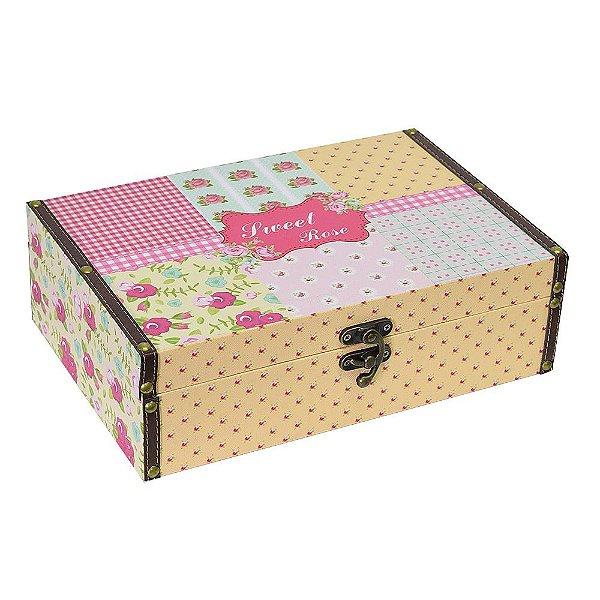 Caixa Decorativa Sweet Rose Grande - Mart