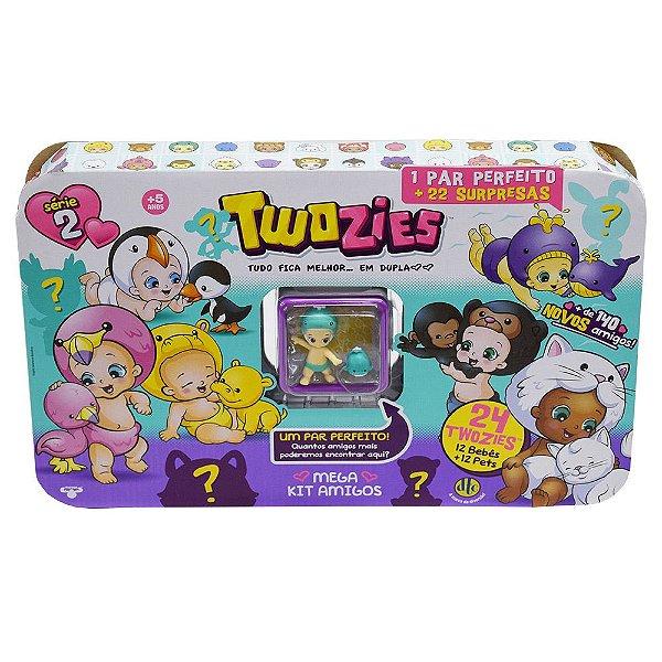 Twozies Mega Kit Amigos - 22 peças - Gale e Oceana - Série 2