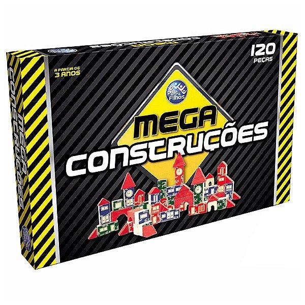 Jogo Mega Construções - 120 peças - Pais e Filhos