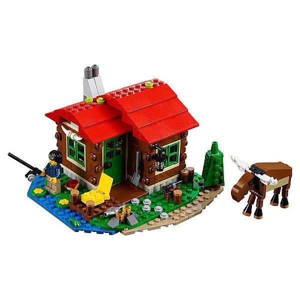 Lego Creator - Casa do Lago - 3 em 1 - Lego