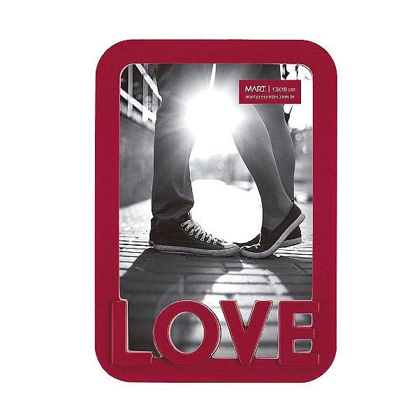 Porta Retrato Love 13 x 18 cm - Mart