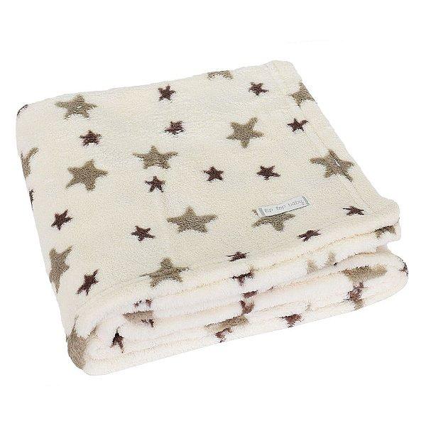 Cobertor de Microfibra Estrelas - Tip Top