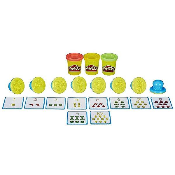 Conjunto Play-Doh Moldar e Aprender - Aprendendo os Números - Hasbro