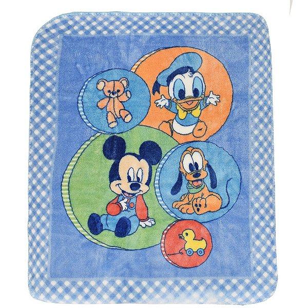 Cobertor Infantil Turminha Disney Raschel - Jolitex