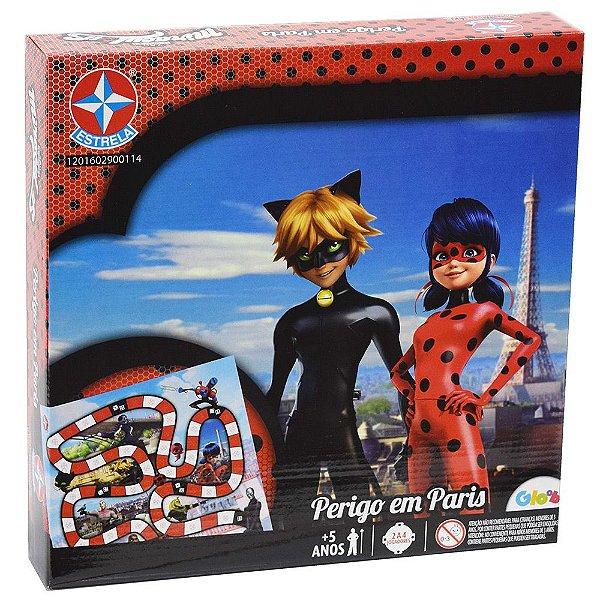 Jogo Perigo em Paris - Ladybug - Estrela