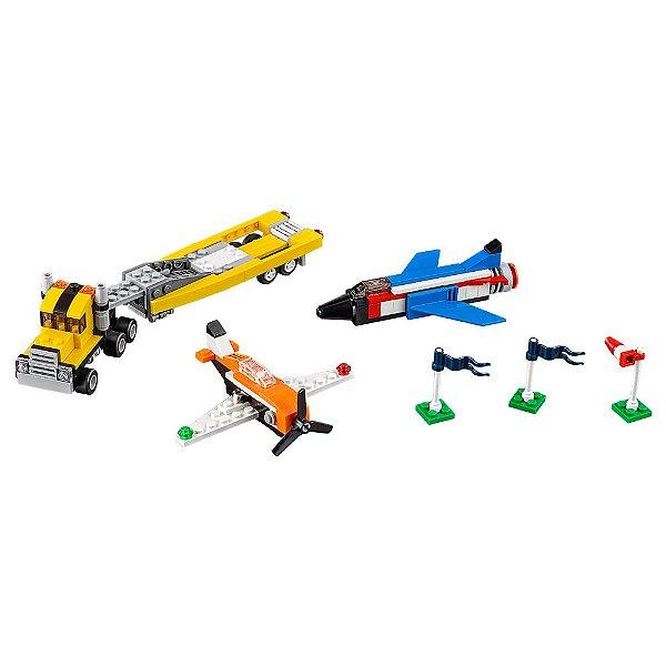 Lego Creator - Ases do Espetáculo Aéreo - 3 em 1 - Lego