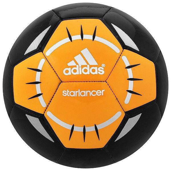 Bola Adidas Starlancer - Preto e Laranja