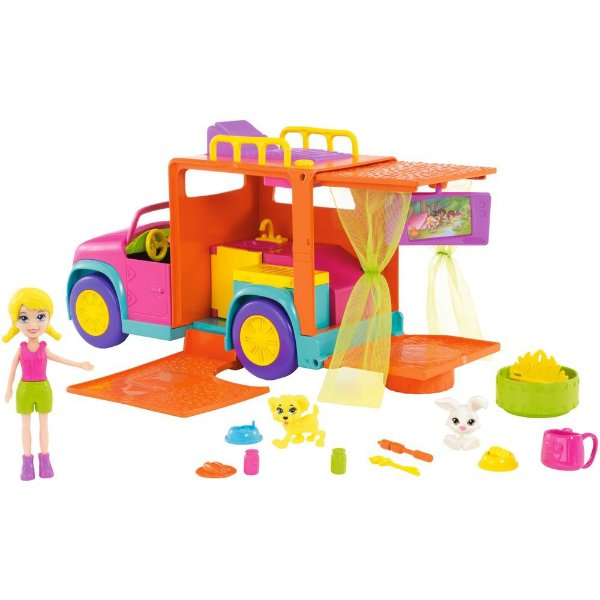 Polly Pocket - Acampamento Legal - Mattel
