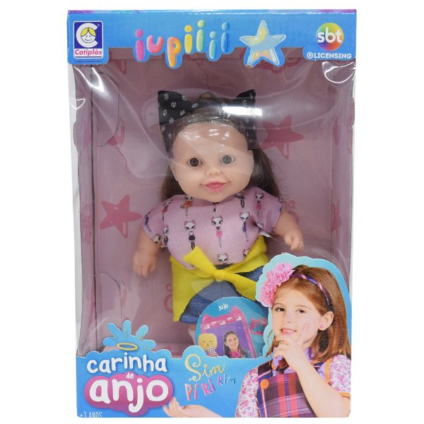 Boneca Carinha de Anjo - Juju - Cotiplás