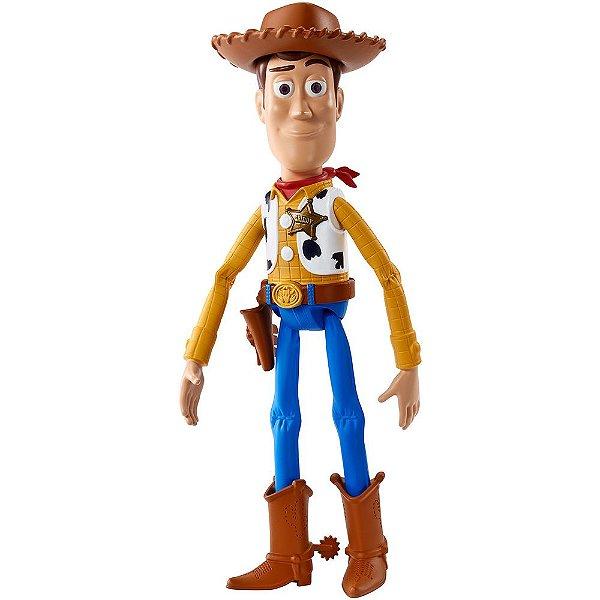 Boneco Woody Que Fala - Toy Story - Mattel