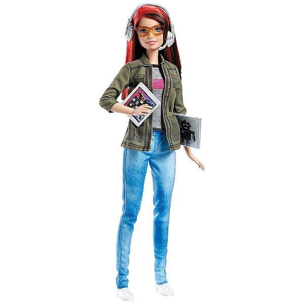 Barbie Profissões – Desenvolvedora de Jogos - Mattel