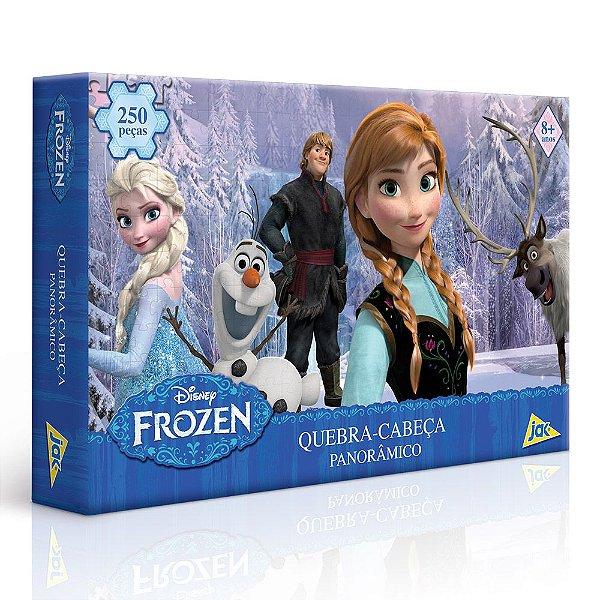 Quebra-Cabeça Panorâmico Frozen - 250 peças - Toyster